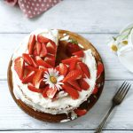 strawberry Homemade cakes, biscuits
