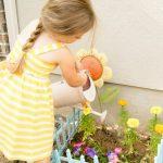 gardening kids little garden