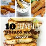 10 Flavorful Potato Wedge Recipes ~ Tipsaholic.com