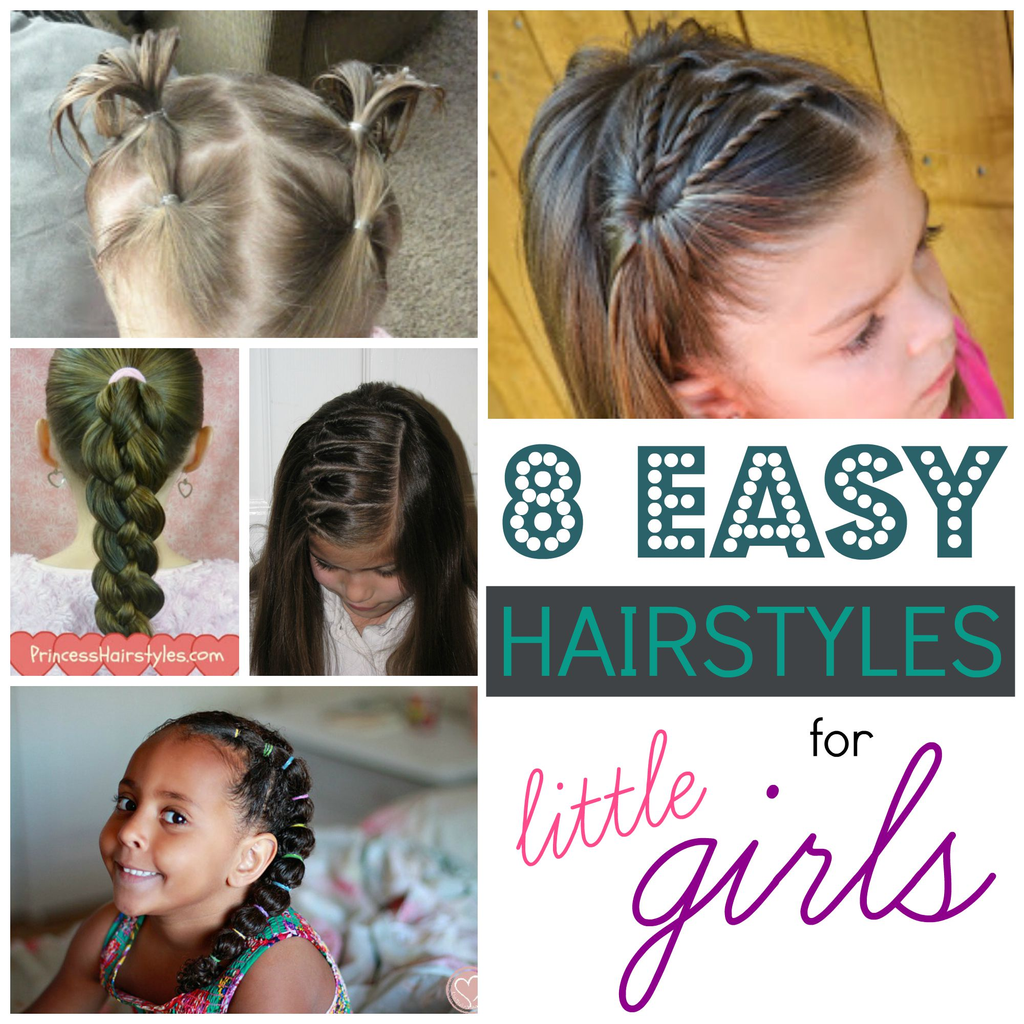 Cute Girl Hairstyles Youtube: 8 Easy Hairstyles For Little Girls