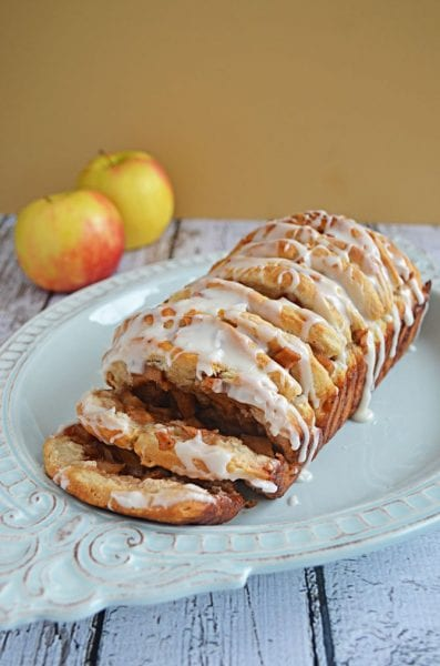 apple fritter pull apart bread recipe