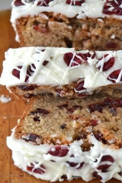 cranberry bliss bread sweet bread recipe