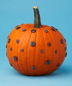 35 No-Carve Pumpkin Decorating Inspirations - Tipsaholic, #Halloween, #halloweenDIY, #pumpkin, #nocarvepumpkins