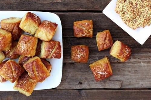 gluten-free soft pretzel bites bread recipe