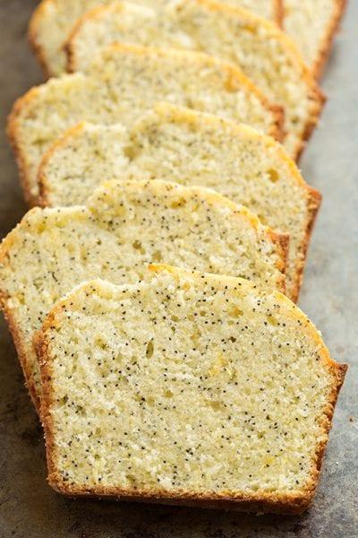 lemon poppy seed bread sweet bread recipe