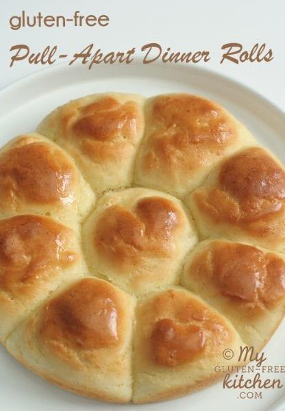 pull apart dinner rolls gluten-free bread recipe