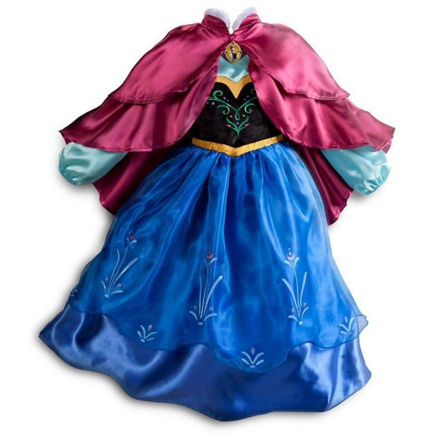 Okay, so the Disney Store has blown away the other options on this gown, but of course it's completely unavailable and the new versions that I've seen from the Disney Store have been different (much less impressive).  For $50, I thought this costume was a great deal since it would cost me more to make it, but I'm not sure I would buy the new version for 50 bucks because it has fewer layers and more dreaded costume glitter.