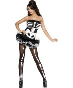 Sexy Skeleton Halloween Costume