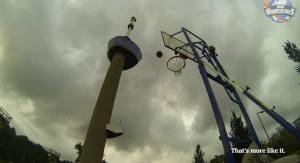 canasto Video   Canastazoooo desde 98 metros de alto [Holanda]