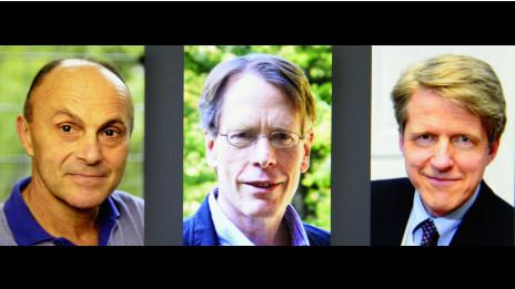 131014115940 nobel economia afp 464x261 afp nocredit Tres estadounidenses ganan Nobel de Economía