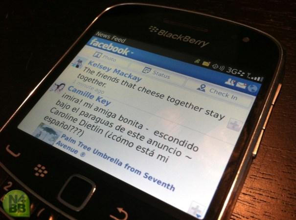 facebook blackberry Facebook ta´por comprar la compañía BlackBerry [Negocios]