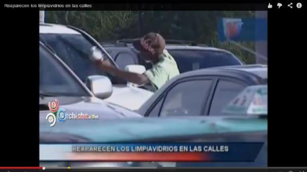 """lv Video  """"Limpiavidrios"""", sacados de las calles, pero volvieron [RD]"""