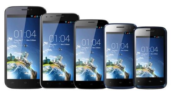 KAZAM_Smartphone_Range
