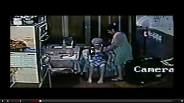 112 Video  La enfermera abusadora ¡Pobre doñita! [Argentina]