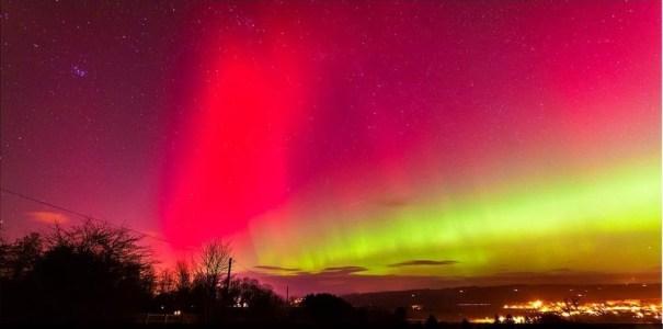 214 Fotos de aurora boreal sobre el cielo británico [Belleza]