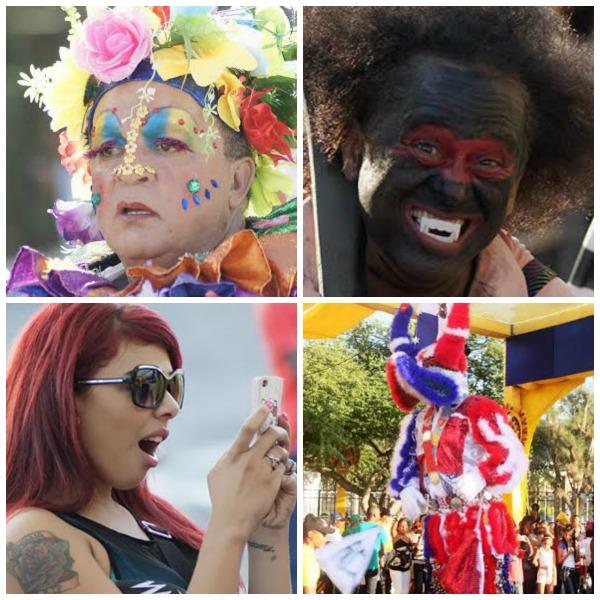 carnales Fotos chulas del Carnaval Vegano y de Santiago.