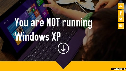 140305122950  73350191 runningxp Microsoft dejará de actualizar Windows XP [Tecno]