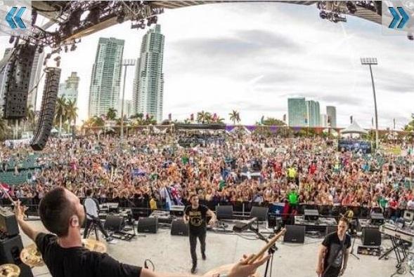 29 Pleito entre Djs y policías heridos en Ultra Music Festival 2014 [Miami]