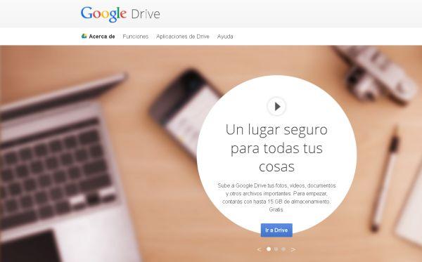 google drive 1 Rebajan precio de almacenamiento de Google Drive