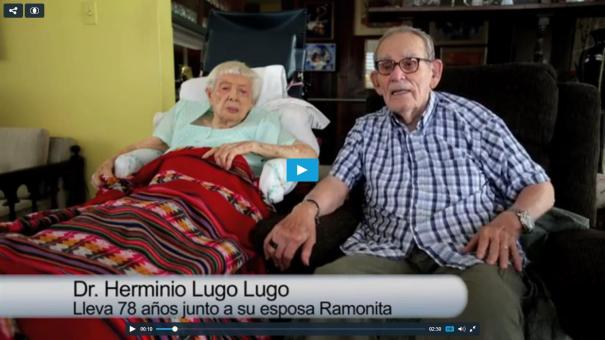 5 Video: Una parejita con 78 años casados [PR]