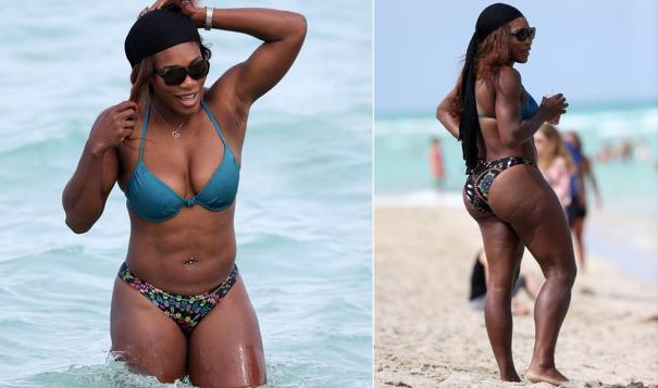 serena williams Los cuadritos de los famosos [fotos]