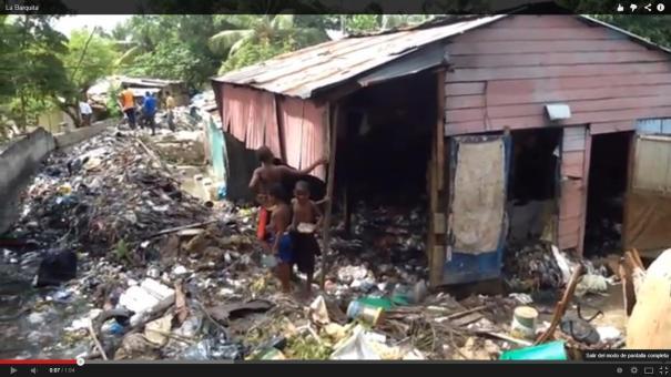 18 Cañada se desborda y deja 15 familias sin hogar en RD [Video]