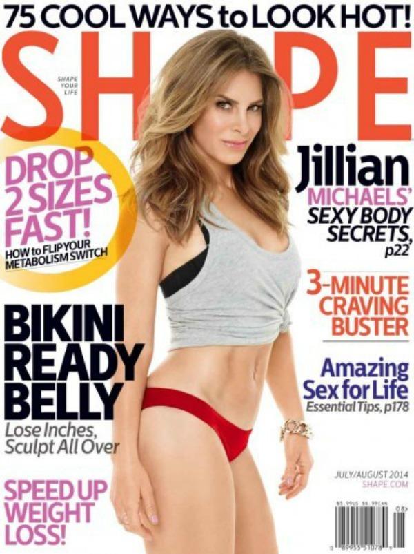 jm2 Jillian Michaels, la popular entrenadora, posa encuera para revista al cumplir 40 años