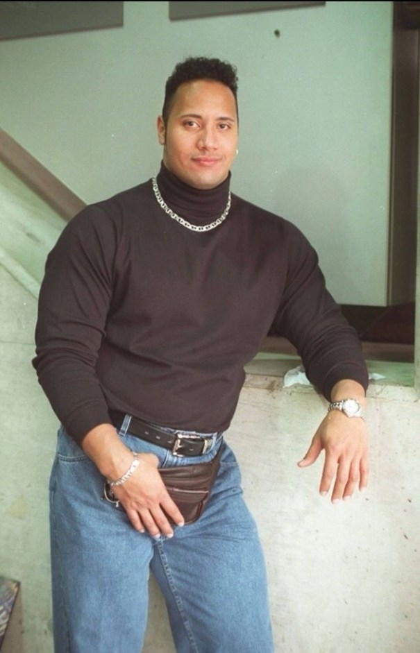 20140716 161907 58747038 Dwayne The Rock Johnson en los 90s [foto]