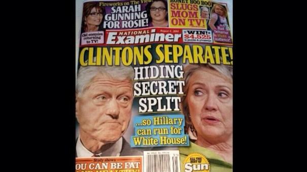 20140728 161221 58341708 Revista National Examiner separa a los Clinton