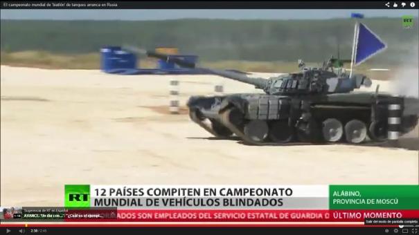1 12 países participan en carreras de tanques de guerra [Videos]