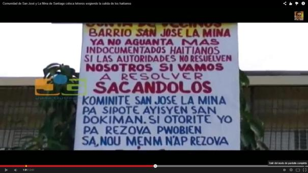111 Dos barrios de RD dan plazo a haitianos para que se vayan [Video]