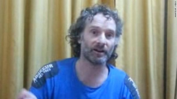 140824142404 peter curtis released story top Periodista gringo que corrió con suerte [Siria]