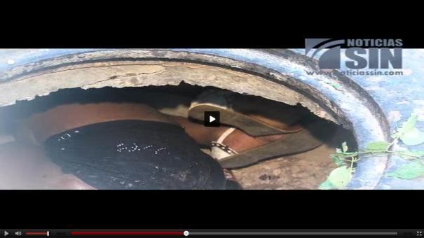 41 Video: Hallan adolescente muerta en una alcantarilla [RD]