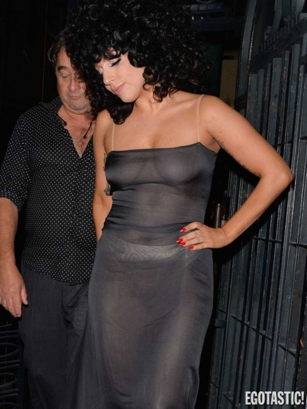 Lady-Gaga-in-a-See-Through-Mesh-Dress-in-Belgium-08-435x580