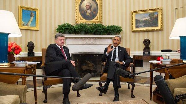 """ucrania Presidente de Ucrania pide """"ayuda letal"""" a EE.UU."""