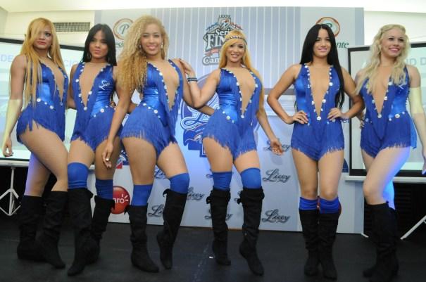 Las bailarinas del Licey