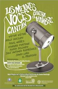 Las voces contra el hambre