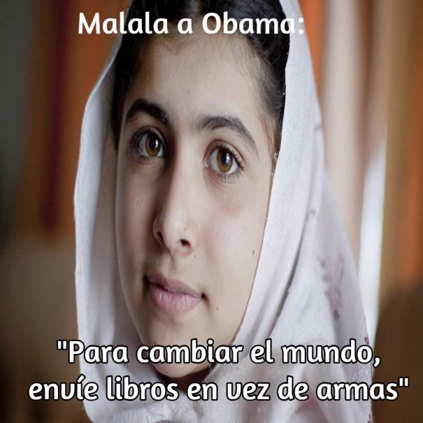 malala a obama