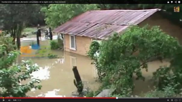 6 Chequea los daños de las inundaciones en el Cibao y línea noroeste [Video]