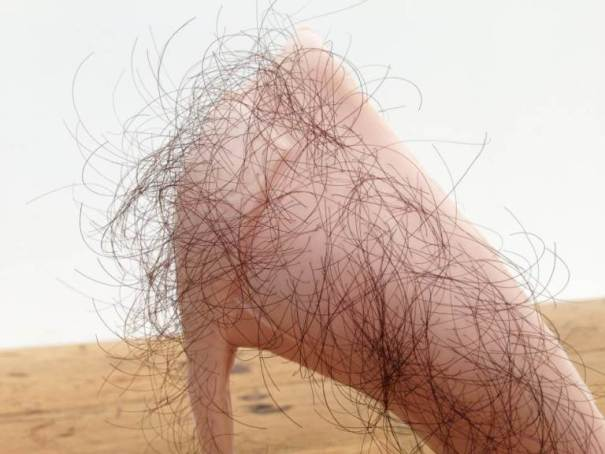 Zhu Tian 'Babe' 2013 Rubber, human hair, pigment, courtesy of the artist 03.jpg
