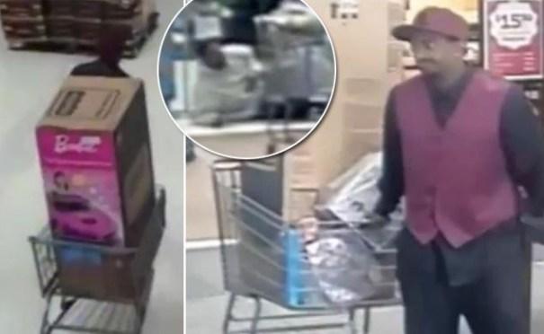 image127 Video   Finge ataque al corazón mientras amigo se roba juguetes Barbie