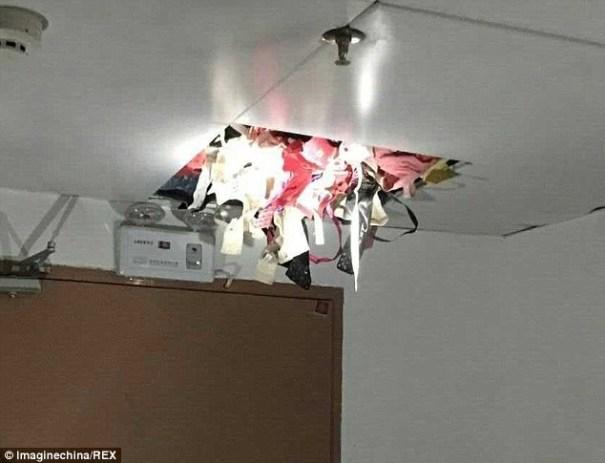 image186 Fotos   Ladrón de ropa interior es atrapado en China