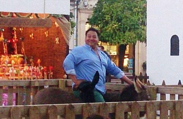 image79 Foto   Burro muere tras ser montado por hombre de 300 libras
