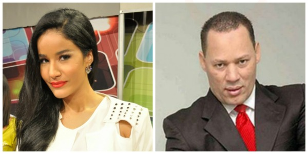 lio Presentadora dominicana quillá con periodista deportivo aprovechador