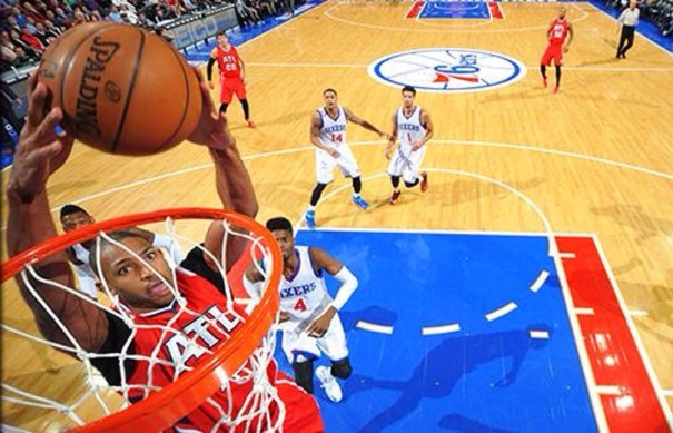 img 4695 Al Horford superbo, produce su primer triple doble