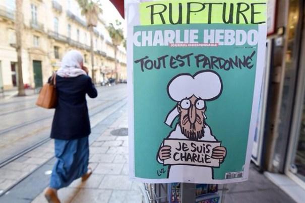 img 4712 Edición especial de Charlie Hebdo se agota al instante
