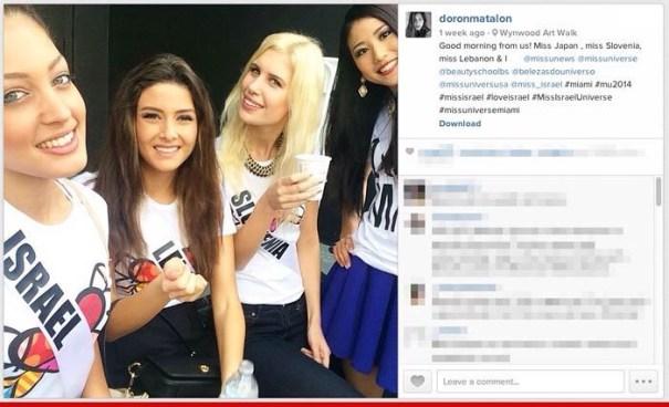img 4840 Selfie en Miss Universo desata controversia