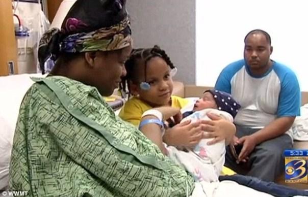 img 5014 Una niña de 4 años salva a su madre embarazada