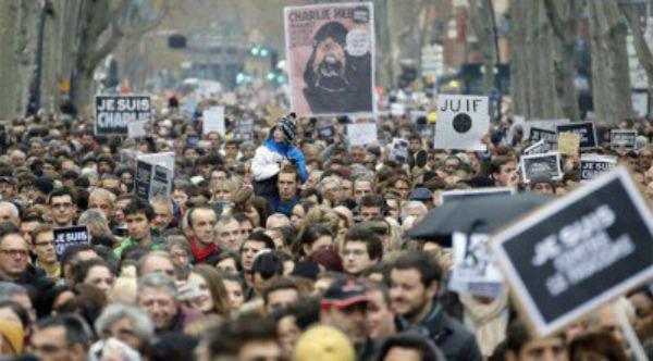 paris1 Histórica marcha en Francia
