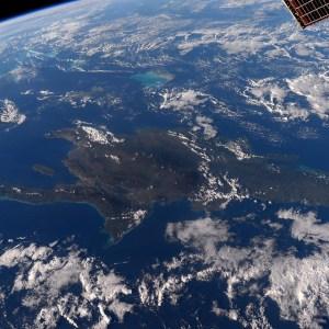 Republica Dominicana desde el espacio